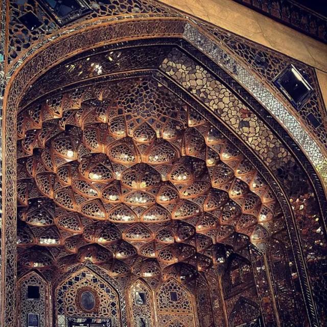 hermosa mezquita en iran 7