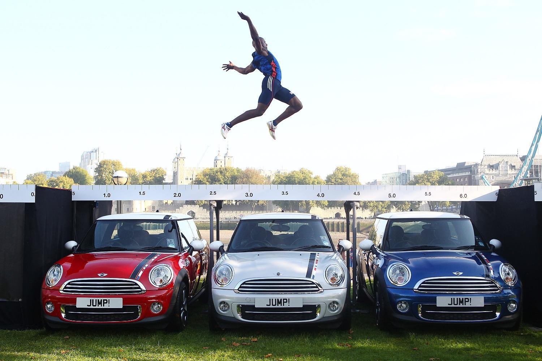 Mini long jump