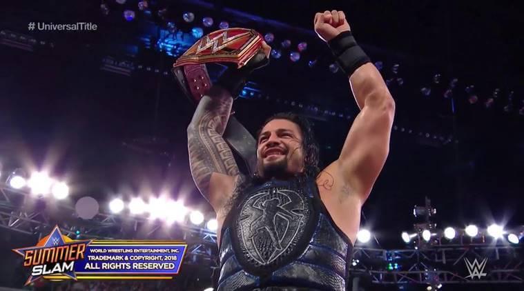 Roman Reigns Win WWE UC