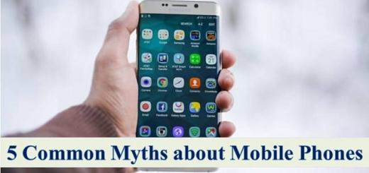 common myths about mobile phones