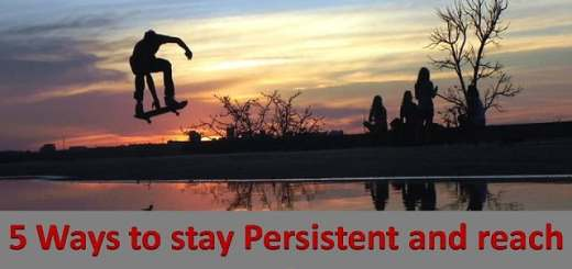 how to stay persistent