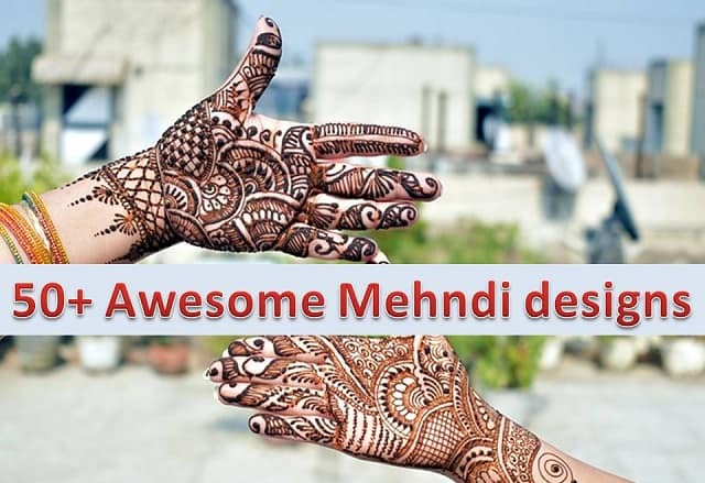 50+ Simple Mehndi Designs that you can't Ignore looking at them