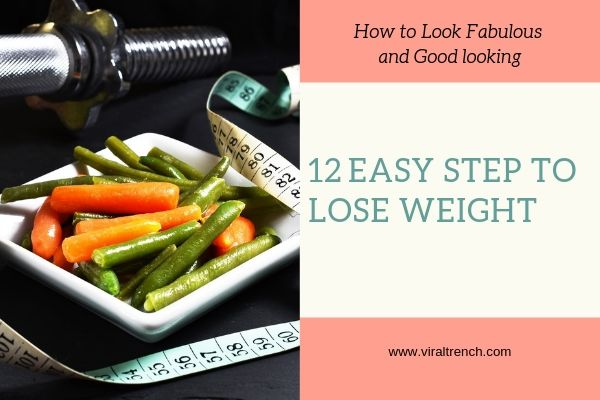 Steps to Lose Weight fast