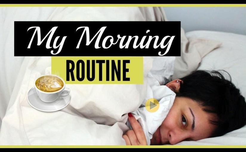 My Morning Routine | Black Jo White