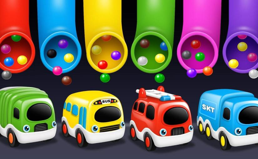 candy eggs names learning colors vehicles names and sounds for 10147