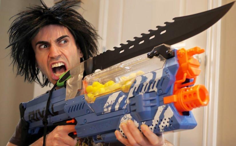 Huge Nerf gun bundle with accessories