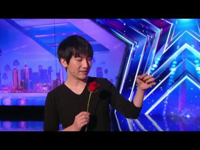 Will Tsai shocks the judges with his visual magic – America´s Got Talent 2017