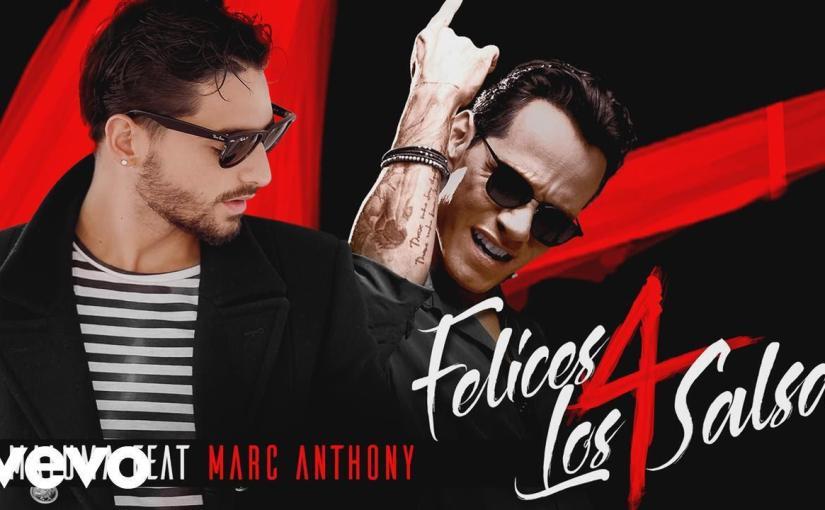 Maluma – Felices los 4 (Salsa Version)[Audio] ft. Marc Anthony