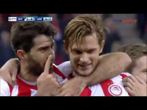 Olympiakos vs Lamia 2-0 Extended Highlights & All Goals 15-01-2018 HD