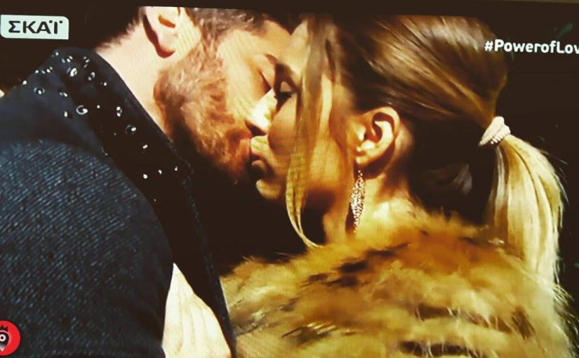 Power of Love Το πρώτο φιλί του Δώρου με την Αθηνά!!!!!
