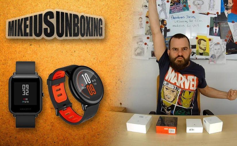 Ήρθαν νέα smart watches!!! – Mikeius Unboxing