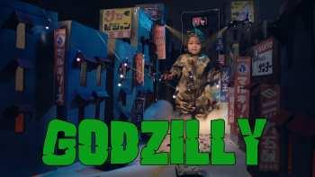 Little Girl Godzilla Adorably Destroys Toy Tokyo