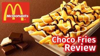 Review Of McDonald's Chocolate Fries In Japan