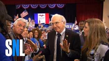 "Larry David And Bernie Sanders Merge In ""Bern Your Enthusiasm"" SNL Skit"