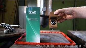 Crushing A Diamond With A Hydraulic Press