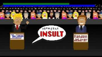 If Presidential Candidates Trump And Hillary Were Made Into Retro Video Games