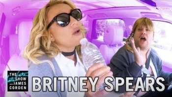 Britney Spears Carpools With James Corden