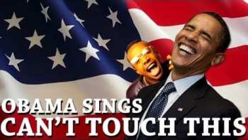 Barack Obama Sings Can't Touch This
