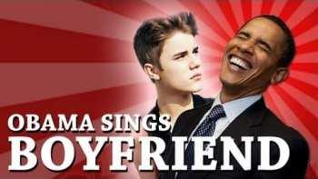 Barack Obama Sings Boyfriend By Justin Bieber