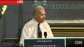Joe Biden Mistakenly Thanks Dr. Pepper
