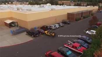 Never Steal A Jeep's Parking Spot!