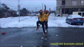 Dance The Snow Shoveler Bhangra!