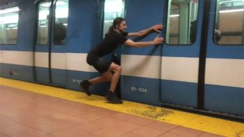 This Superhero Can Stop And Start Subways On His Own
