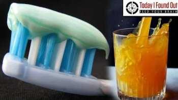 Why Does Toothpaste Make Things Like Orange Juice Taste So Awful?
