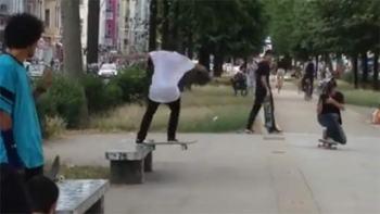 Sick Skateboard Trick By Luan Oliveira