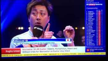 Japanese Pool Player Gives Best Interview Ever