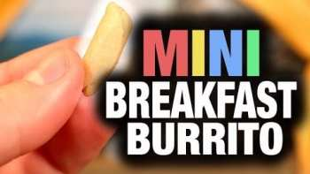 This Mini Breakfast Burrito Is Quite Funny, But Leaves You Hungry For More