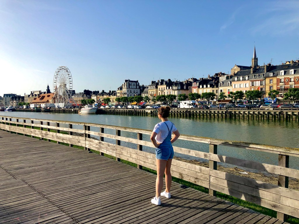 Trouville, used to be a fishing harbour now a fancy week-end destination