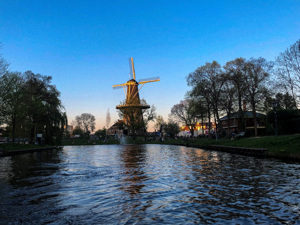 The famous windmill of Leiden