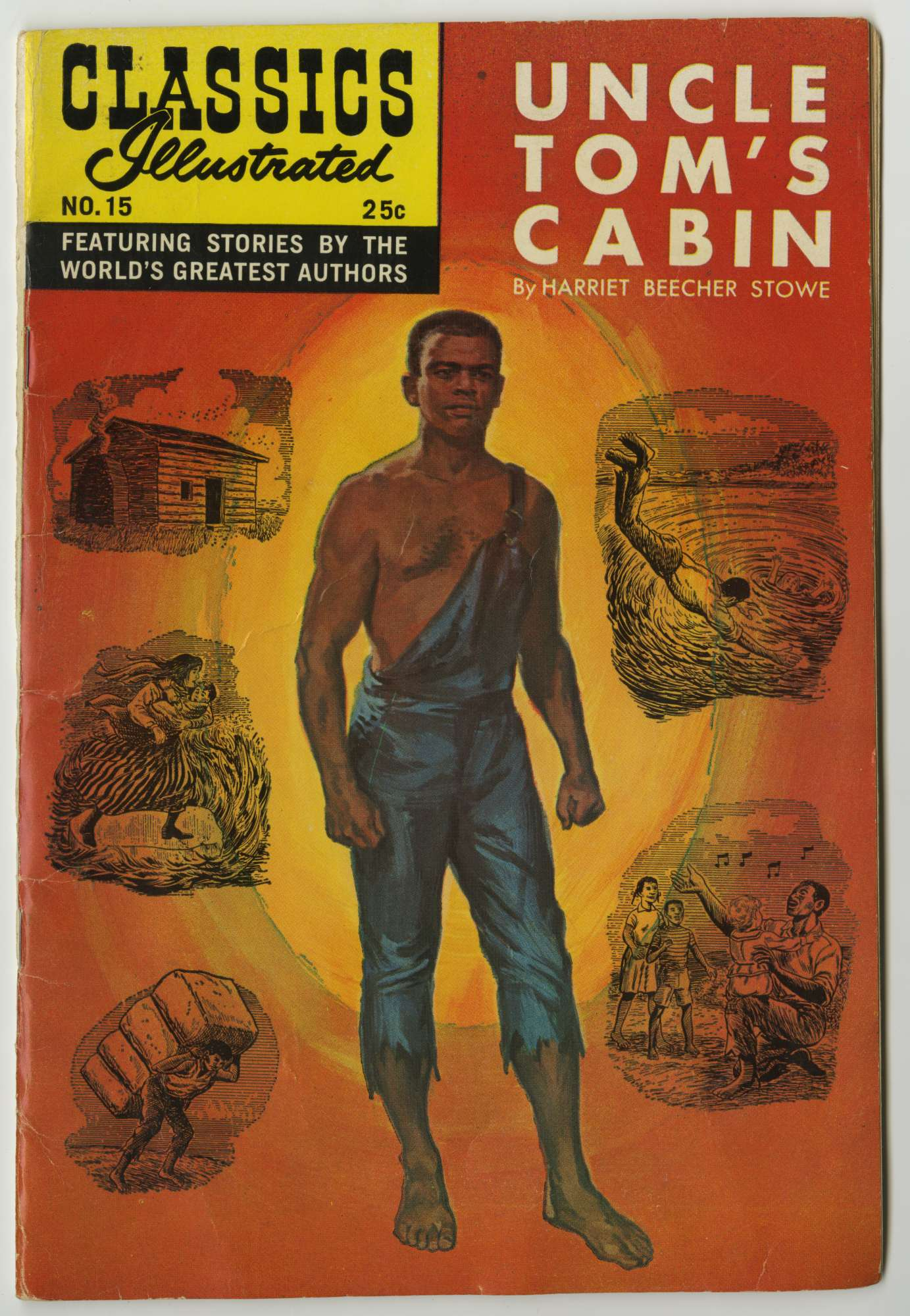 Classics Illustrated Uncle Tom S Cabin Online Exhibitions