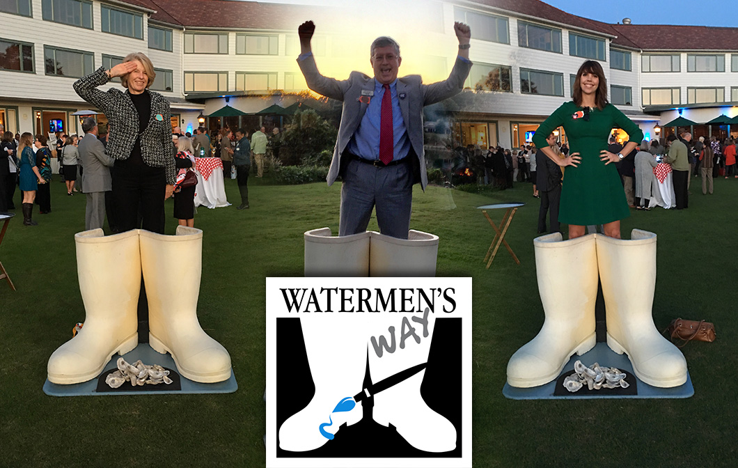 Local Artists Bring Watermen's Heritage To A Pair of Boots Near You