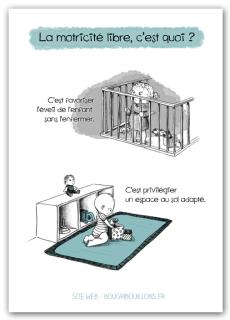 Affiche petite enfance - Motricité libre 5