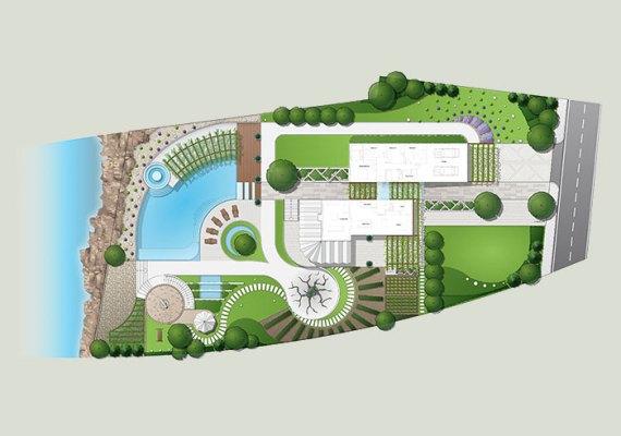 Coastal House Garden