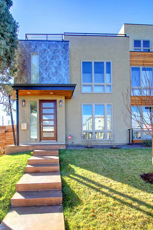 Highlands Modern Triplex Interior Designer Denver CO
