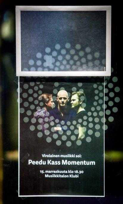 Peedu Kass Momentum_15.11.2017_Musiikkitalon Klubi_Helsinki