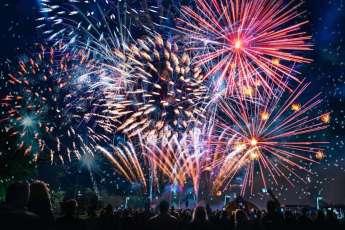 Fuochi artificio Ferragosto