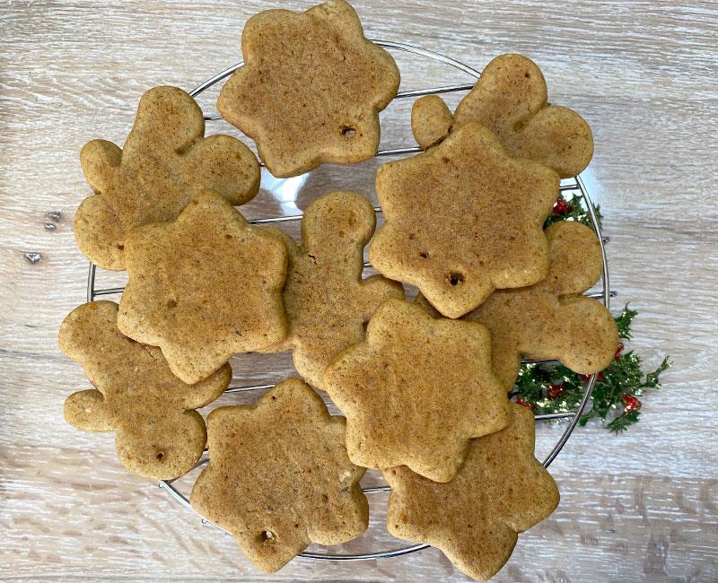 biscotti pan di zenzero ricetta di natale virosac magazine asciugatura