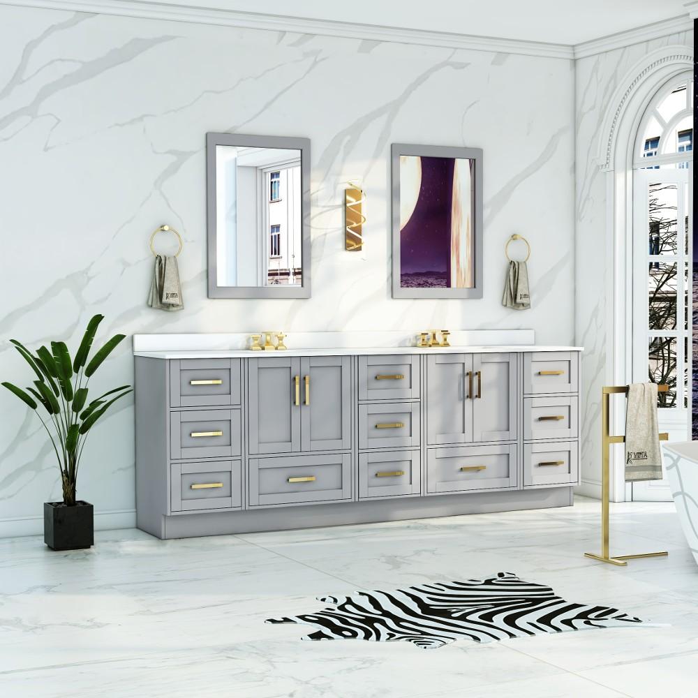 flow floor mount 87 double sink vanity
