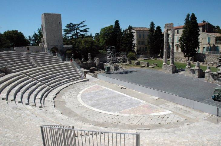 Teatro romano de Arles | VirTimePlace
