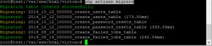 Datele au fost imporate cu succes in mySQL.