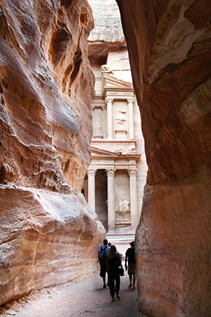 Petra, the Siq and the Treasury