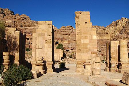 Petra, the City Center