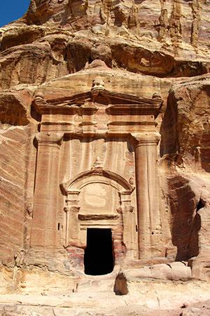 Petra, the Renaissance Tomb