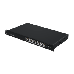 Managed PoE+ Gigabit Switch with SFP EdgeSwitch