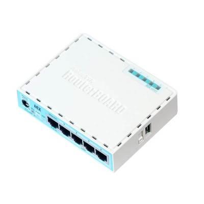 MikroTik RouterBOARD hEX (750Gr3) usmerjevalnik 5xRJ45