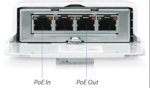 Ubiquiti N-SW, 4-Portni PoE Nano Switch
